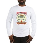 New Orleans Poboy Eating Cham Long Sleeve T-Shirt