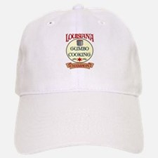 Louisiana Gumbo Cook Champ Baseball Baseball Cap