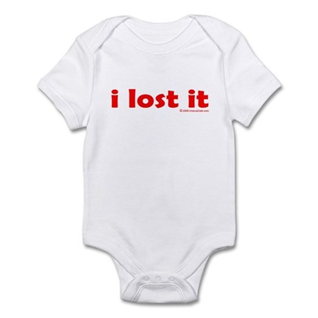 i lost it Infant Bodysuit