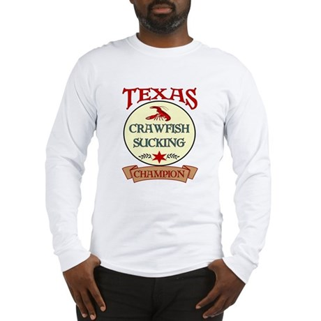 Crawfish Eating Champ Long Sleeve T-Shirt