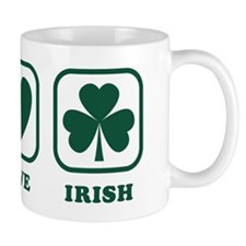 Peace Love Irish Mug