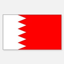 Bahrain Rectangle Sticker 50 pk)
