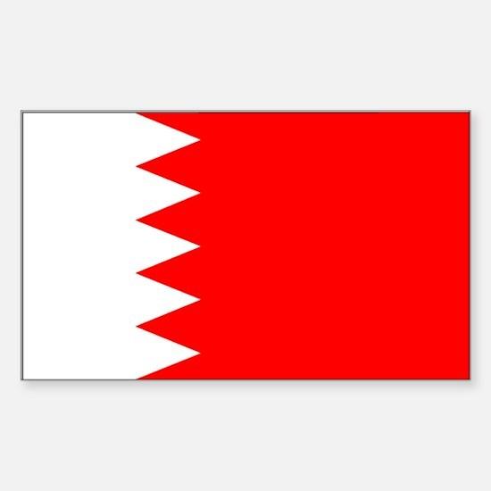 Bahrain Rectangle Decal