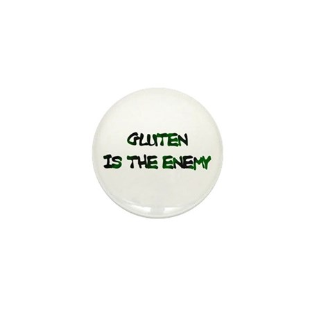 GLUTEN IS THE ENEMY Mini Button (10 pack)