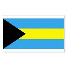 Bahamas Rectangle Decal