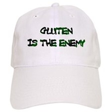 GLUTEN IS THE ENEMY Baseball Cap