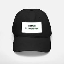 GLUTEN IS THE ENEMY Baseball Hat
