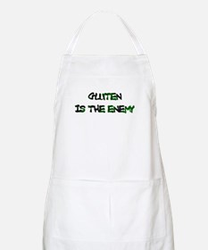 GLUTEN IS THE ENEMY BBQ Apron