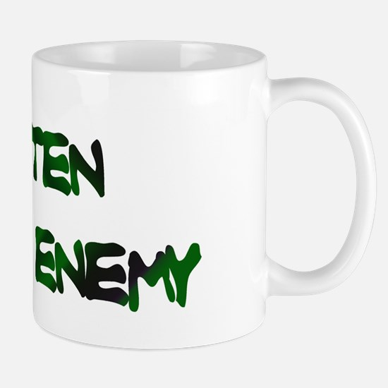 GLUTEN IS THE ENEMY Mug
