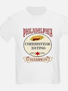 Philadelphia Cheesteak Eating T-Shirt