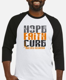 HOPE FAITH CURE MS Baseball Jersey