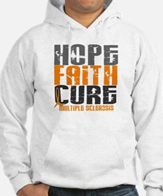 HOPE FAITH CURE MS Hoodie