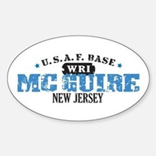 McGuire Air Force Base Oval Decal