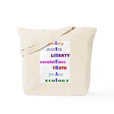 Liberal Values Tote Bag