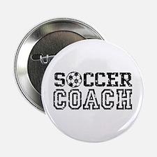 """Soccer Coach 2.25"""" Button"""