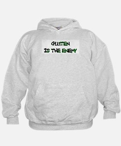 GLUTEN IS THE ENEMY Hoodie