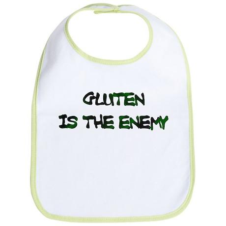 Gluten Is The Enemy Bib
