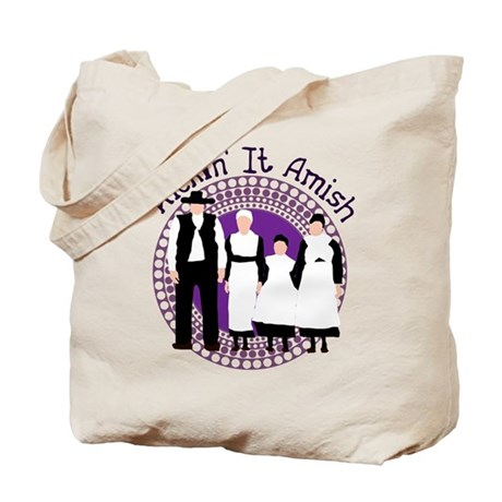 Riyah-Li Designs Kickin' It Amish Tote Bag