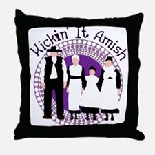 Riyah-Li Designs Kickin' It Amish Throw Pillow