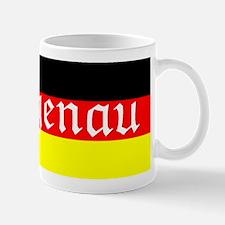 Genau German Flag Mug