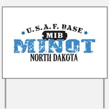 Minot Air Force Base Yard Sign