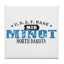 Minot Air Force Base Tile Coaster