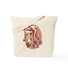 Mardi Gras Jester (Burgundy) Tote Bag