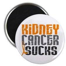 "Kidney Cancer Sucks 2.25"" Magnet (100 pack)"