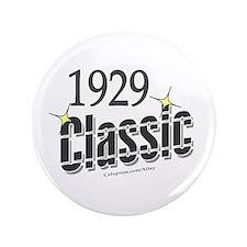 """1929 Classic 3.5"""" Button"""