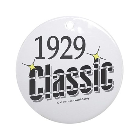 1929 Classic Ornament (Round)