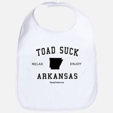 Toad Suck (AR) Arkansas Tees Bib
