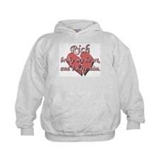Rich broke my heart and I hate him Hoodie