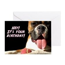 It's Your Birthday Boxer Greeting Card