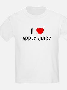 I LOVE APPLE JUICE Kids T-Shirt