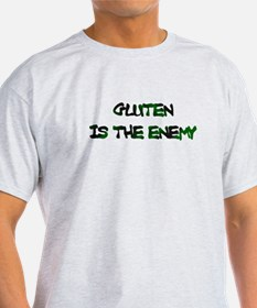Gluten Is The Enemy T-Shirt