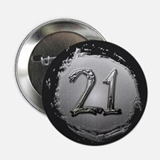 "Cool 21st Birthday 2.25"" Button"
