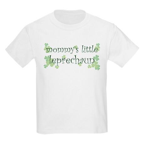 Mommy's Leprechaun Kids Light T-Shirt