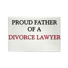 Proud Father Of A DIVORCE LAWYER Rectangle Magnet