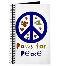Paws for Peace Navy Journal