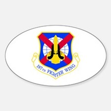 187th Oval Decal