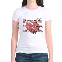 Reynaldo broke my heart and I hate him T