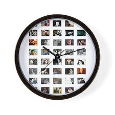 Splashy Wall Clock