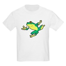ASL Frog in Flight Kids T-Shirt