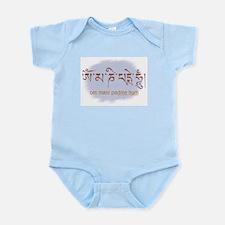 Om Mani Padme Hum Lotus Sutra Infant Creeper