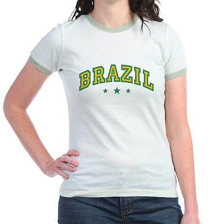 Brazil Jr. Ringer T-Shirt