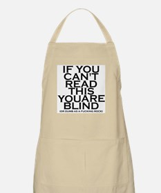 If You Can't Read This... BBQ Apron