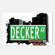DECKER AVENUE, STATEN ISLAND, NYC Postcards (Packa