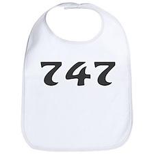 747 Area Code Bib