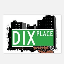 DIX PLACE, STATEN ISLAND, NYC Postcards (Package o