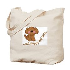 Puppy Dog Tails Tote Bag
